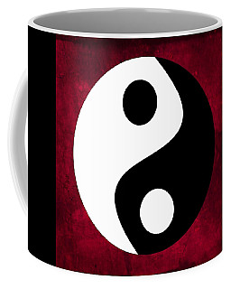 Coffee Mug featuring the digital art Yin And Yang by Marianna Mills