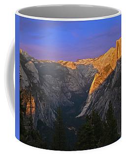 Yosemite Summer Sunset 2012 Coffee Mug by Walter Fahmy