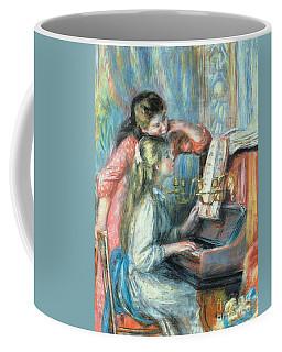 Young Girls At The Piano Coffee Mug