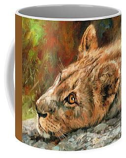 Young Lion Coffee Mug