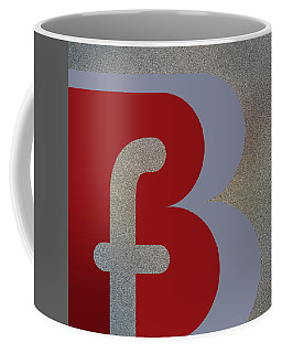 Your Name - B F Or F B Monogram Coffee Mug