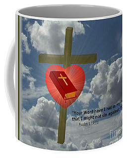 Your Word Have I Hid In My Heart Coffee Mug