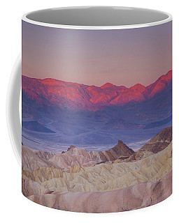 Zabriskie Sunrise Coffee Mug
