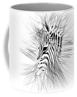 Zebrart Coffee Mug by ISAW Gallery