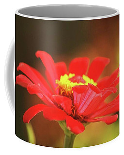Coffee Mug featuring the photograph Zinnia by Donna G Smith