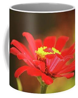 Zinnia Coffee Mug by Donna G Smith