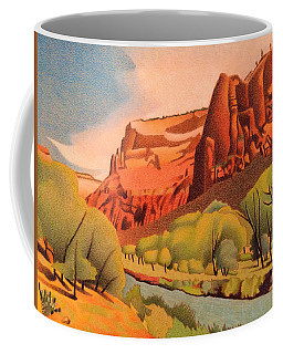Zion Canyon Coffee Mug