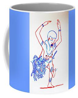 Zulu Traditional Dance South Africa Coffee Mug