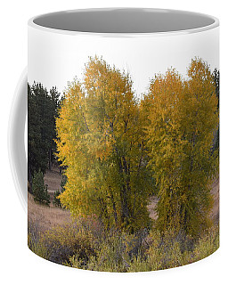 Aspen Trees In The Fall Co Coffee Mug