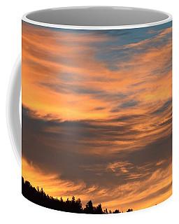 Coffee Mug featuring the photograph Sunrise Ridge Cr511 by Margarethe Binkley