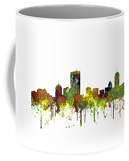 Boston Massachusetts Skyline Coffee Mug by Marlene Watson