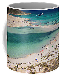 Coffee Mug featuring the photograph Crete by Milena Boeva
