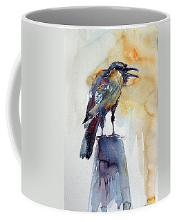 Crow Coffee Mug