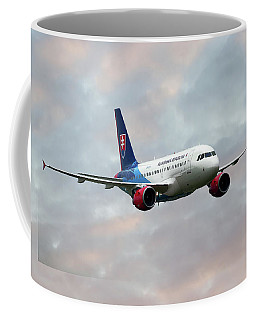 Slovak Government Flying Service Airbus A319-115 Coffee Mug