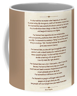 101-  Maya Angelou Coffee Mug