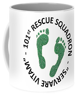 101st Rescue Squadron Coffee Mug by Julio Lopez