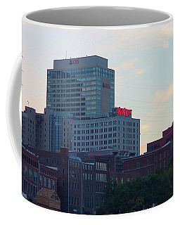 Coffee Mug featuring the photograph 103.3 Wkdf by Nick Kirby