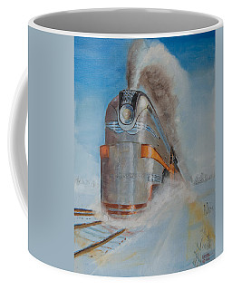 104 Mph In The Snow Coffee Mug