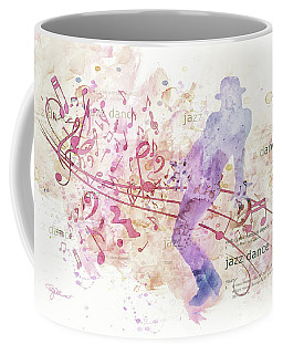 10849 All That Jazz Coffee Mug by Pamela Williams