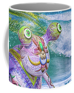 10859 Aliens In Paradise Coffee Mug