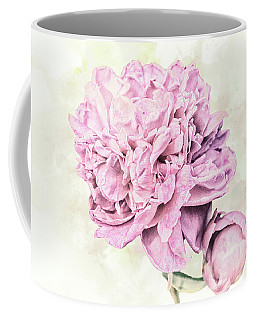 10861 Spring Peony Coffee Mug by Pamela Williams