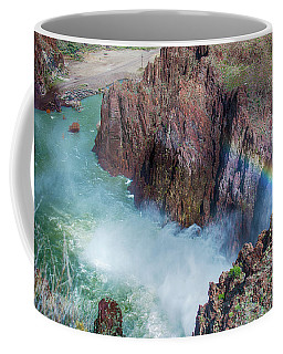10883 Rainbow Over Owyhee Coffee Mug by Pamela Williams