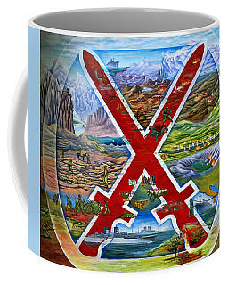 Coffee Mug featuring the photograph 10th Mountain Division Wwii by Marilyn Hunt
