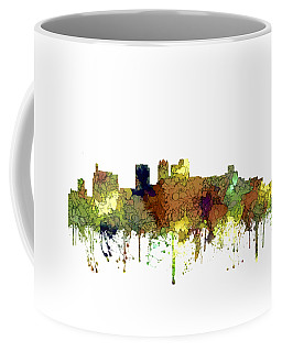 Birmingham Alabama Skyline Coffee Mug by Marlene Watson