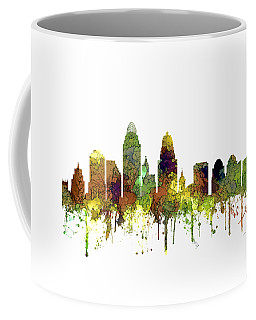 Cincinnati Ohio Skyline  Coffee Mug by Marlene Watson