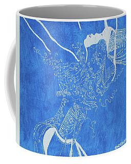 Dinka In Blue South Sudan Coffee Mug