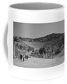 Coffee Mug featuring the photograph Ephesus Turkey by Cendrine Marrouat