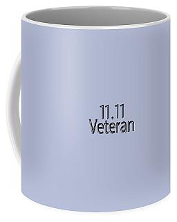 11.11 Veteran Coffee Mug by Bill Owen