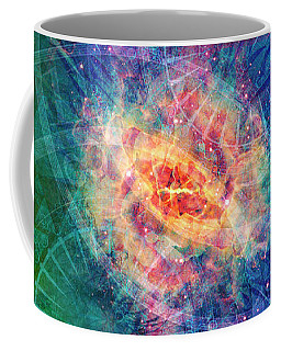 Coffee Mug featuring the digital art 11th Hour by Kenneth Armand Johnson