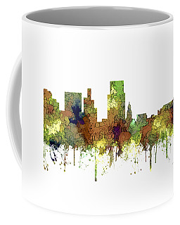 Boise Idaho Skyline Coffee Mug by Marlene Watson