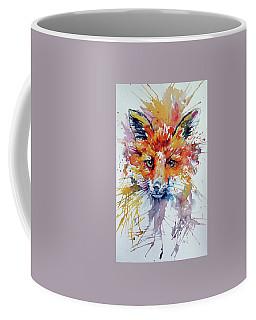 Red Fox Coffee Mug by Kovacs Anna Brigitta