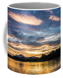 Sunrise Scenery In The Morning Coffee Mug