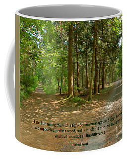 12- The Road Not Taken Coffee Mug