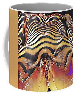 1290s-ak Intimate Vulval Portrait Rendered In The Style Of Francis Picabia  Coffee Mug by Chris Maher