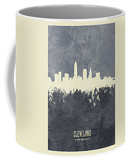 Cleveland Ohio Skyline Coffee Mug