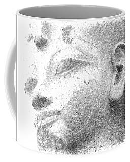 Face Coffee Mug by Yury Bashkin