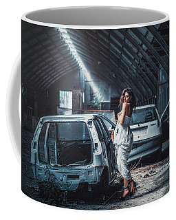 Coffee Mug featuring the photograph Giulia by Traven Milovich