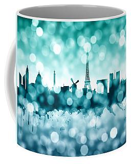 Paris France Skyline Coffee Mug