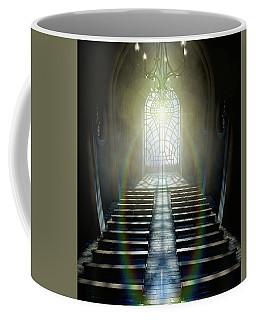 Stained Glass Window Church Coffee Mug