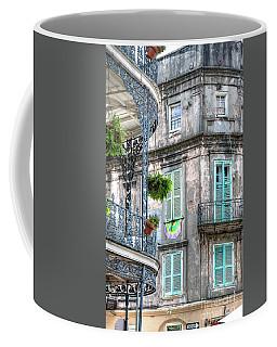 1358 French Quarter Balconies Coffee Mug