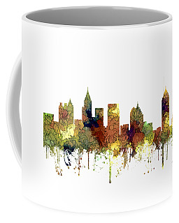 Atlanta Georgia Skyline Coffee Mug by Marlene Watson