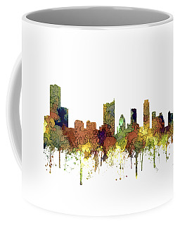Austin Texas Skyline Coffee Mug by Marlene Watson