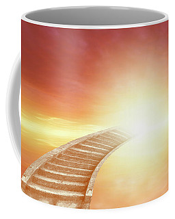 Coffee Mug featuring the photograph Stairway To Heaven by Les Cunliffe