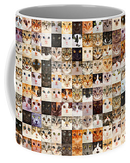 140 Random Cats Coffee Mug