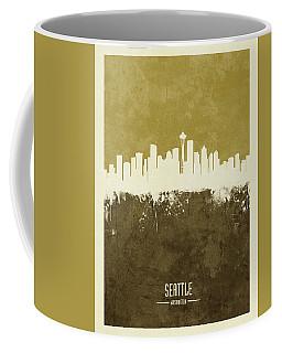 Seattle Washington Skyline Coffee Mug