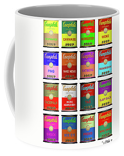 16 Cans Of Neologisms Coffee Mug